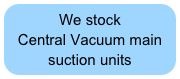 We stock